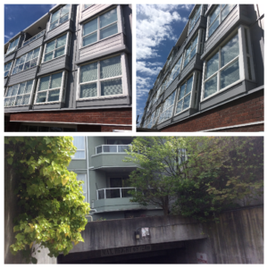 2891 E Hastings, Vancouver Strata Repaint
