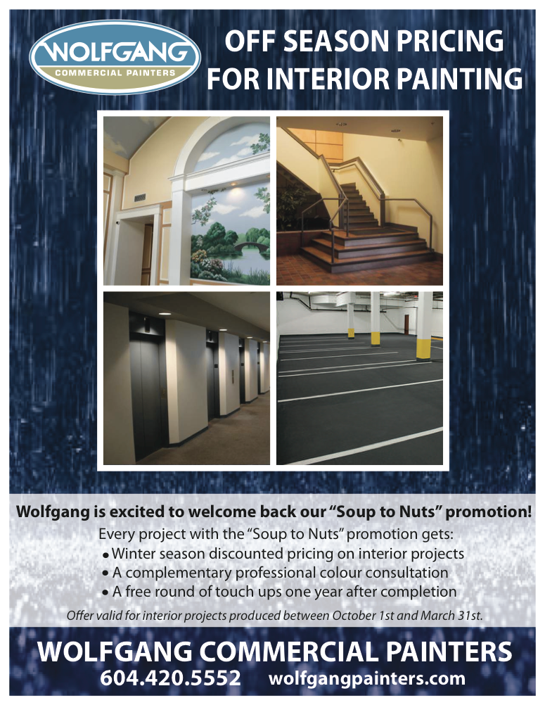 Interior Commercial Painting Flyer